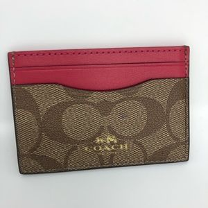 Coach | Card Holder Brown Berry